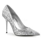Argent Etincelle 10 cm APPEAL-20G grande taille chaussures stilettos