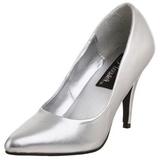 Argent Mat 10 cm VANITY-420 Escarpins Chaussures Femme