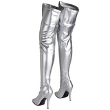 Argent Mat 13 cm SEDUCE-3000 bottes overknee femme
