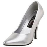 Argent Mat 13 cm SEDUCE-420 Escarpins Chaussures Femme