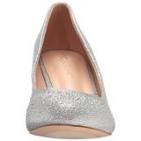 Argent Pierre Cristal 6,5 cm DORIS-06 Chaussures Escarpins de Soirée