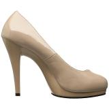 Beige 11,5 cm FLAIR-480 Chaussures pour femmes a talon