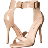 Beige 13 cm AMUSE-10 chaussures travesti