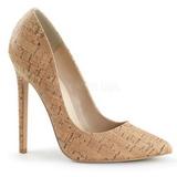 Beige Liege 13 cm SEXY-20 Escarpins Chaussures Femme