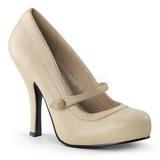 Beige Mat 12 cm CUTIEPIE-02 Escarpins Chaussures Femme