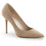 Beige Suède 10 cm CLASSIQUE-20 grande taille chaussures stilettos