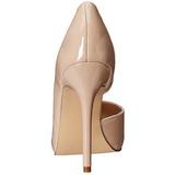 Beige Verni 13 cm AMUSE-22 Chaussures Escarpins Classiques