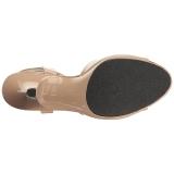 Beige Verni 8 cm BELLE-309 Sandales Femme a Talon