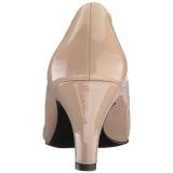 Beige Verni 8 cm DIVINE-420W escarpins à talons hauts