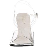 Blanc 11,5 cm FABULICIOUS GALA-08 Sandales de soirée à talon