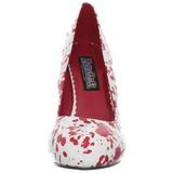 Blanc 13 cm BLOODY-12 Chaussures pour femmes a talon