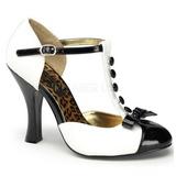 Blanc Suede 10 cm SMITTEN-10 Escarpins Chaussures Femme