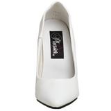 Blanc Verni 10 cm VANITY-420 Escarpins Talons Aiguilles Hommes