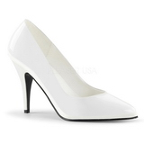 Blanc Verni 10 cm VANITY-420 escarpins à bout pointu