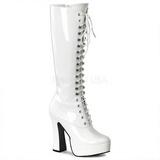 Blanc Verni 13 cm ELECTRA-2020 Bottes Femmes pour Hommes