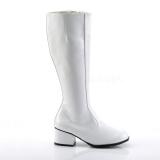 Blanc Verni 5 cm FUNTASMA GOGO Bottes Femmes