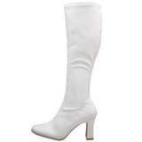 Blanc Verni 9,5 cm FUNTASMA KIKI-350 Bottes Femmes