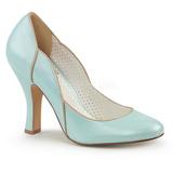 Bleu 10 cm SMITTEN-04 Pinup escarpins femmes à talons bas