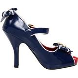Bleu 11,5 cm ANCHOR-22 Chaussures pour femmes a talon