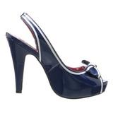 Bleu 11,5 cm BETTIE-05 Chaussures pour femmes a talon