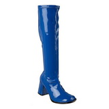 Bleu Verni 8,5 cm Funtasma GOGO-300 Bottes Femmes