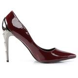 Bourgogne Verni 11,5 cm VOLTAGE-01 Chaussures Escarpins Classiques