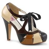 Brun 11,5 cm BETTIE-19 Chaussures pour femmes a talon