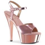 Cuivre 15 cm KISS-209 Plateforme Chaussures Talon Haut