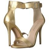 Dorée 13 cm AMUSE-10 chaussures travesti