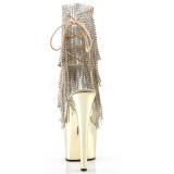Dorée 18 cm ADORE-1017RSF bottines a frangees pour femmes a talon