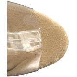 Dorée 18 cm ADORE-1017RSFT bottines a frangees pour femmes a talon