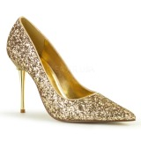 Dorée Etincelle 10 cm APPEAL-20G grande taille chaussures stilettos