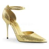 Dorée Etincelle 10 cm APPEAL-21 grande taille chaussures stilettos