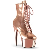 Dorée Verni 18 cm ADORE-1020 bottines plateforme pour femmes