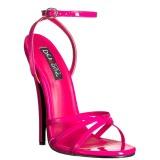 Fuchsia 15 cm DOMINA-108 chaussures travesti
