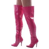 Fuchsia Verni 13 cm SEDUCE-3010 bottes overknee femme