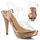 Gold Rose 11,5 cm ELEGANT-408 chaussure competition bikini fitness talons hauts