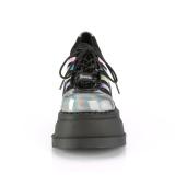 Hologramme 12,5 cm STOMP-08 bottines plateforme compensées lolita
