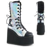Hologramme 14 cm SWING-120 bottes gothique avec plateforme