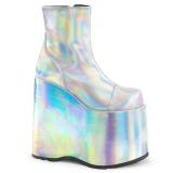 Hologramme 18 cm Demonia SLAY-204 bottines plateforme gothique