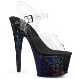 Hologramme 18 cm Pleaser ADORE-708HSP chaussure à talons de pole dance