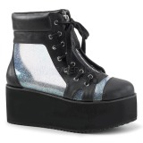 Hologramme 7 cm Demonia GRIP-102 bottines plateforme gothique