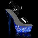 LED ampoule plateforme 15 cm ECHOLITE-208 sandales talons hauts de pole dance
