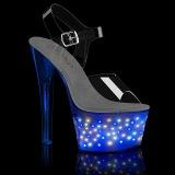 LED ampoule plateforme 18 cm ECHOLITE-708 sandales talons hauts de pole dance