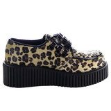 Leopard 5 cm CREEPER-112 chaussures creepers femmes semelles épaisses