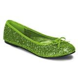 Limette STAR-16G etincelle chaussures ballerines femmes plates
