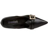 Mat 6,5 cm SALEM-06 chaussures escarpins du sorcière petit talon