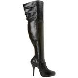 Mollets larges 13 cm DIVA-3006X bottes cuissardes jambes larges