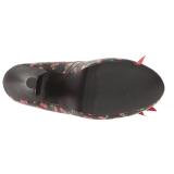 Motif Cerise 11,5 cm PINUP-05 grande taille escarpins femmes