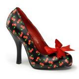 Motif Cerise 12 cm CUTIEPIE-06 Escarpins Chaussures Femme